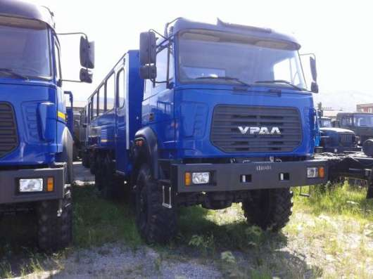 Заводские вахтовые автобусы Урал 3255-3013-79 М-28, без пробега 2016 г.в.