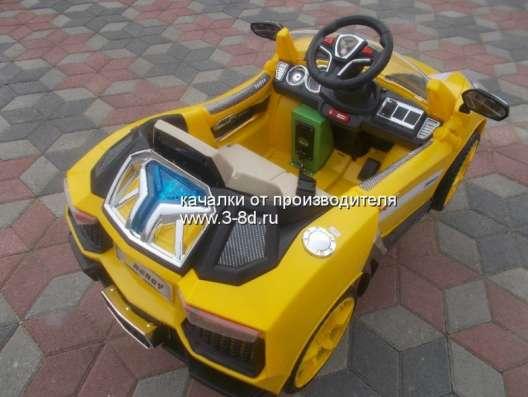 Детский аттракцион, качалка машина Спорткар в Москве Фото 1