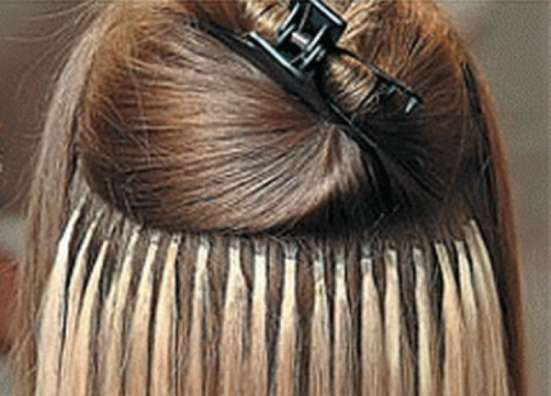 Наращивание волос на капсулах в Челябинске. Индийские густые волосы
