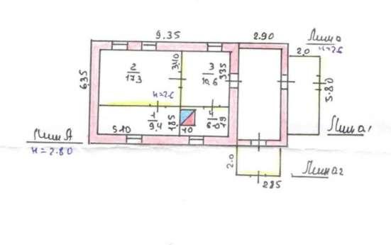 Продам кирпичный дом в Эртильском районе. Газ, свет, вода