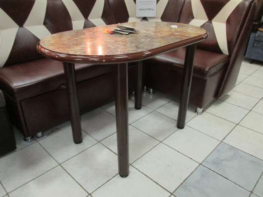 Стол овальный кухонный