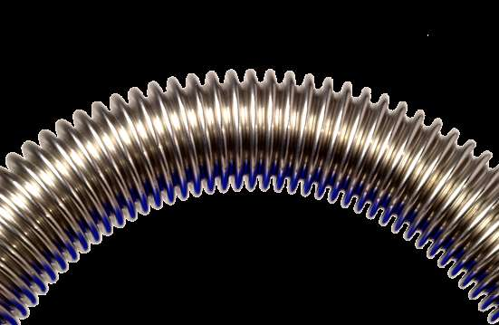 Производство гибких гофрированных нержавеющих труб