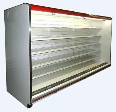 Холодильные витрины пристенные, 0. + 7С, МХМ Прага