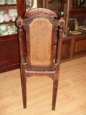 стул с ротангом,Россия,19в,в реставрацию