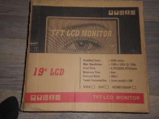 Монитор-телевизор Digital TFT LCD-19 в Барнауле Фото 3