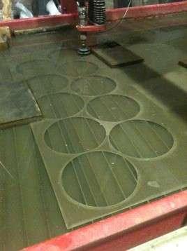 Раскрой резка металла пластика керамогранита стекла медь