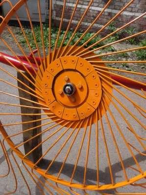 Грабли ворошилки колесно пальцевые