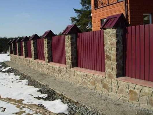 Строительство заборов в Щёкино и районе в Туле Фото 2