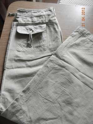 Летние легкие брюки х/б