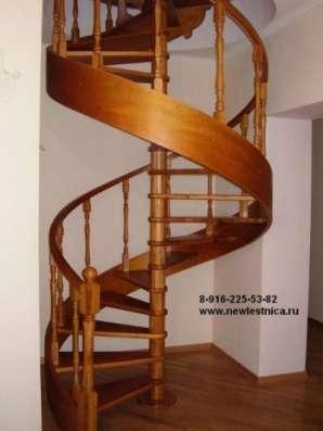 Красивые лестницы от производителя Новая Лестница в Зеленограде Фото 1