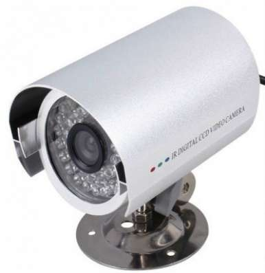 комплект на 1 видеокамеру наблюдения в Челябинске Фото 2