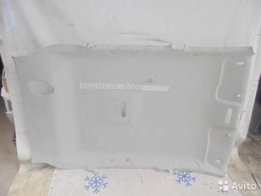 Обшивка потолка, Nissan Qashqai J10