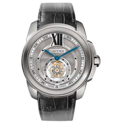 "Оригинальные часы Cartier ""Calibre de Cartier Flying Tourbil"