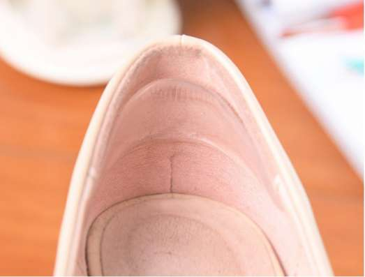 Силиконовые подушечки для обуви новые (2 шт.)