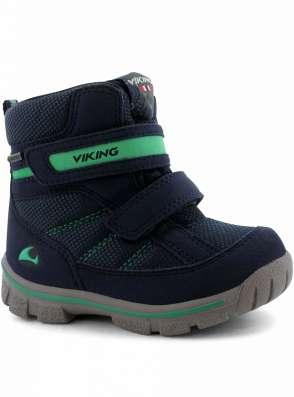 Ботинки зимние Domino GTX синие Viking