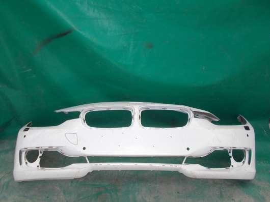 Бампер белый Bmw f30