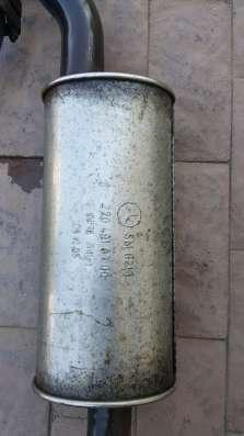 Комплект глушителя Брабус мерседеc S 220
