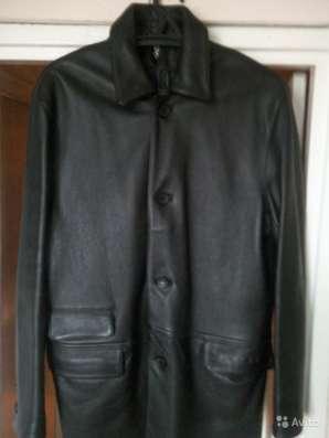 Куртка мужская натур. кожаная