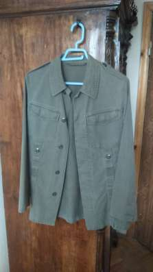 Милитари пиджак