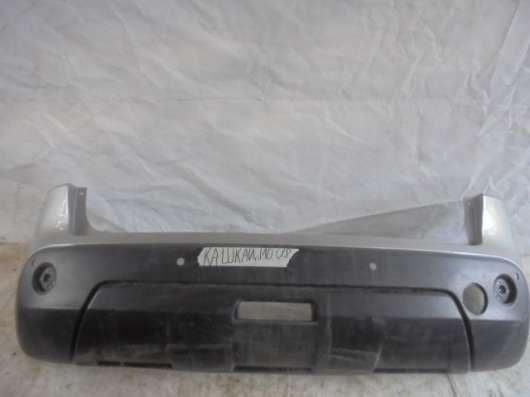 Бампер задний на Nissan Qashqai J10
