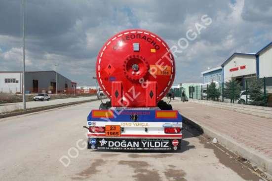 Автоцистерна полуприцеп 50 м3 газовоз Dogan Yildiz в Москве Фото 4