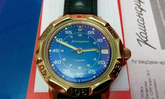 Часы командирские НОВЫЕ синий экран в г. Астана Фото 5