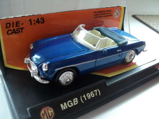 Масштабная модель автомобиля MGB