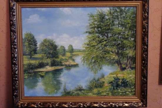 Картина пейзаж летним днём