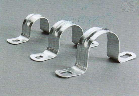 Скоба металлическая двухлапковая 19-20 мм