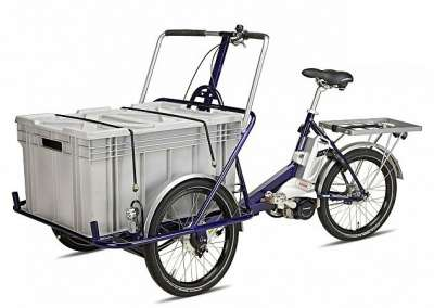 Велосипед Helkama Cargo E-Trike