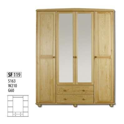Корпусная мебель из дерева