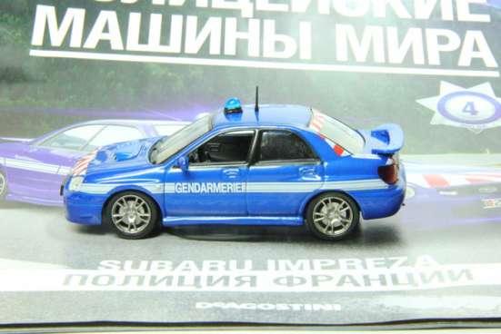 полицейские машины мира №4 SUBARU IMPREZA полиция франции в Липецке Фото 2