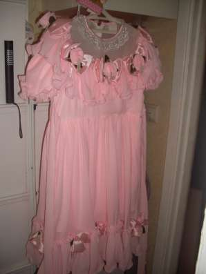 Детское праздничное розовое платье на девочку 6-8 лет в Москве Фото 4