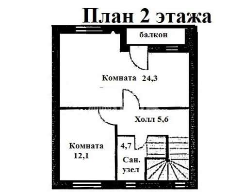 Таунхаус 90кв. м, 2 этажа, Габовское с/т, д. Рыбаки