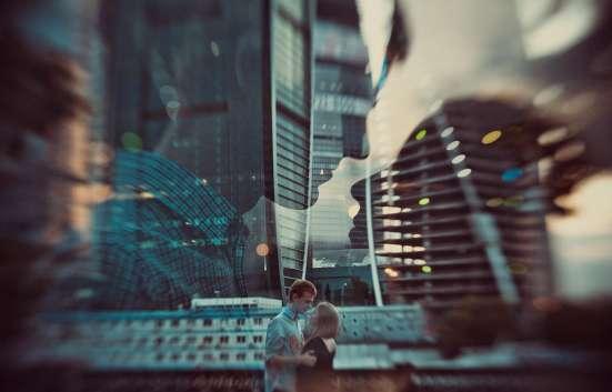 "Cвидание в небоскребе ""Москва-сити"" в башне «Город Столиц"