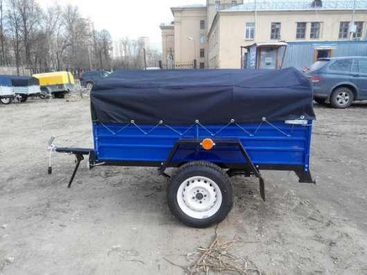 Прицеп для легкового автомобиля 1800х1250 в комплекте с тентом и дугами