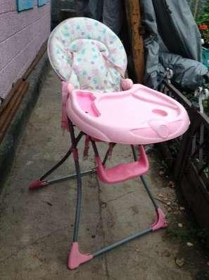Детский стул для кормлиния (Складной)