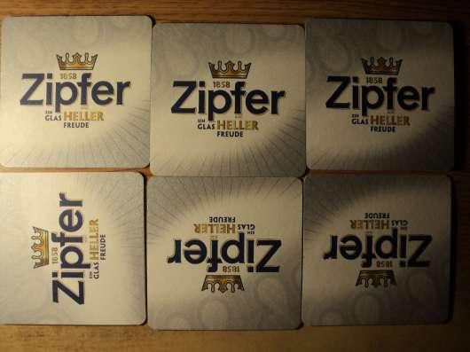Серия-пазл бирдекелей пива Zipfer