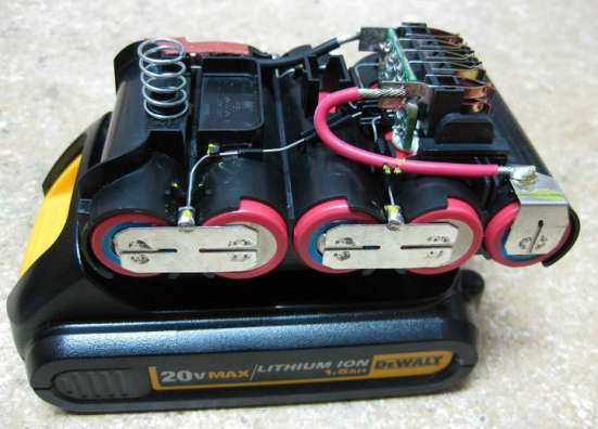 Аккумуляторные сборки для шуруповертов