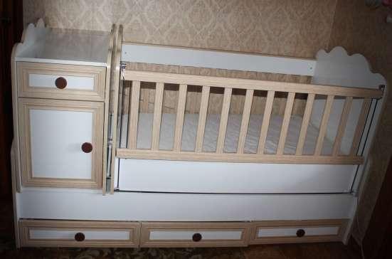 Продаю детскую кроватку (трансформер) в г. Тбилиси Фото 3