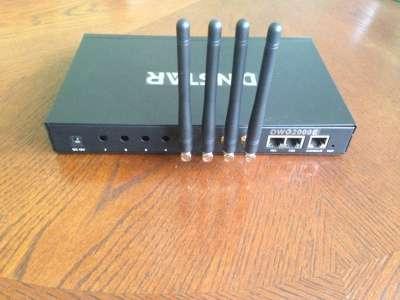 Dinstar DWG2000E-4GSM - VoIP-GSM шлюз (4