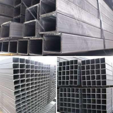 Трубы металлические профильного и круглого сечения с доставк