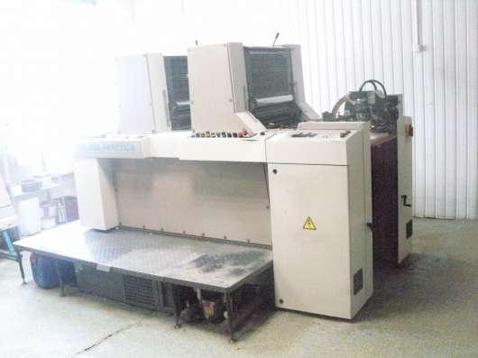 Офсетная печатная машина MAN ROLAND 200