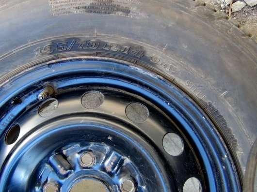 Колесо автомобильное в сборе DUNLOP 195/70 R14 91V в Саратове Фото 2