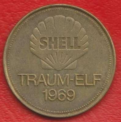 Жетон Shell Шелл Дорфель футбол Traum-elf 1969 в Орле Фото 1