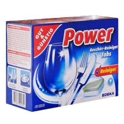 Таблетки для посудомоечных машин G&G Power