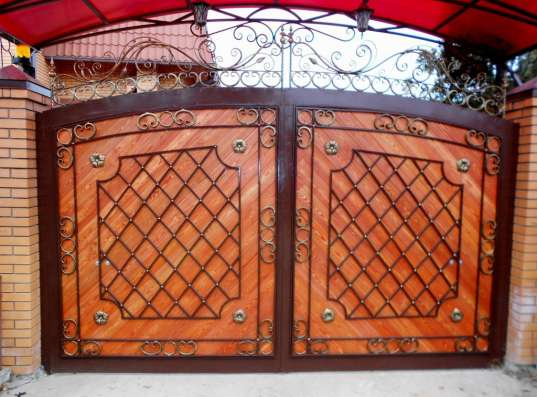 Кованые решетки, ворота, ограждения, мебель
