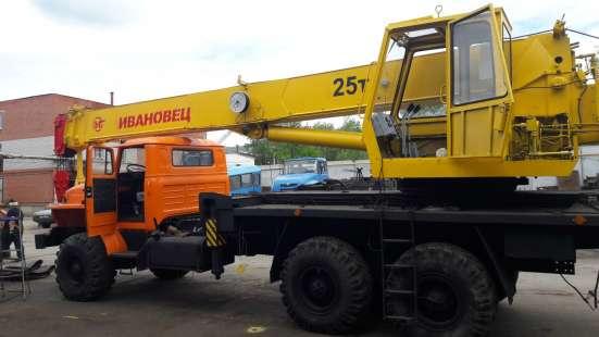Автокран Ивановец на шасси Урал 25,32 т в Челябинске Фото 3