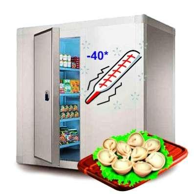 Камеры заморозки, охлаждения, хранения в Крыму. Установка в г. Симферополь Фото 3