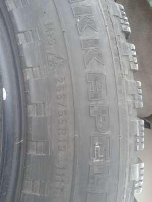 Автошины шипованные, в хор. состоянии, AKKAPELI 255/55 R19